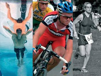 running swimming cycling -sport injury clinic